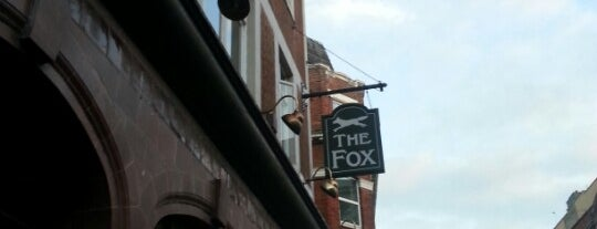 The Fox is one of À faire à Londres.