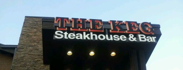 The Keg Steakhouse + Bar - Mississauga Heartland is one of Restaurants - Mississauga/Brampton/Oakville.