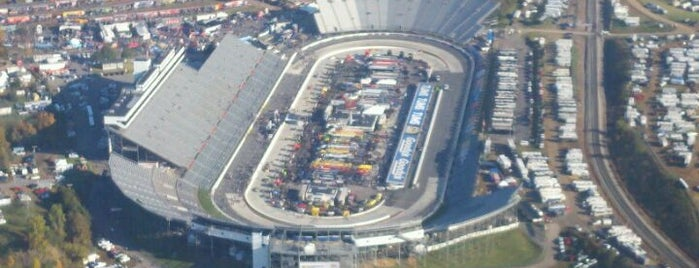 Martinsville Speedway is one of ww.