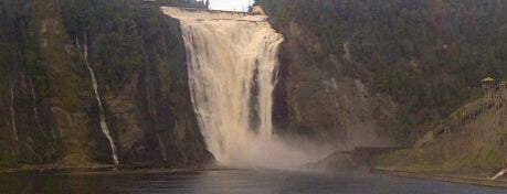 Montmorency Falls Park is one of Must see places in Quebec City.