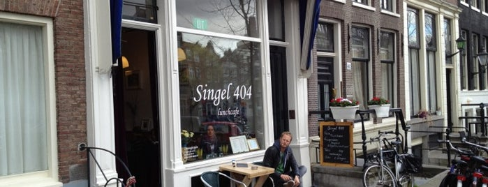 Singel 404 is one of My favorites in Amsterdam.