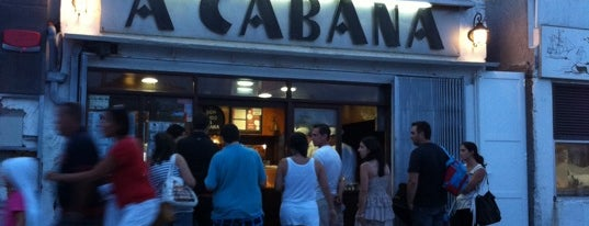 A Cabana is one of Locais curtidos por Mark.
