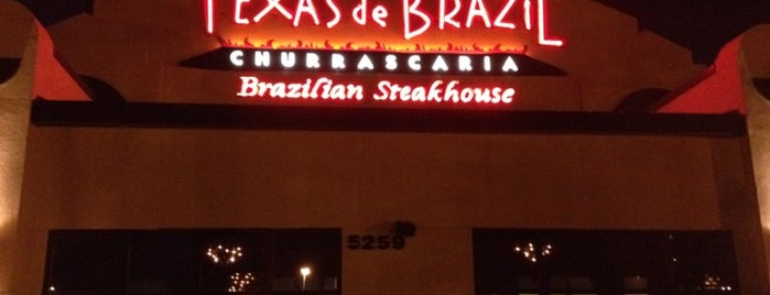 Texas de Brazil is one of Orlando Eats.