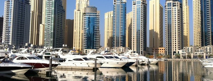 Dubai Marina Yacht Club is one of Gust's World Spots.