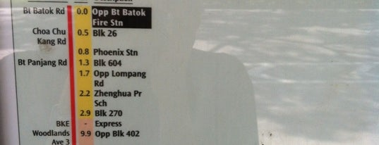 Bus Stop 44151 (Opp Bt Batok Fire Stn) is one of le 4sq with Donald :].