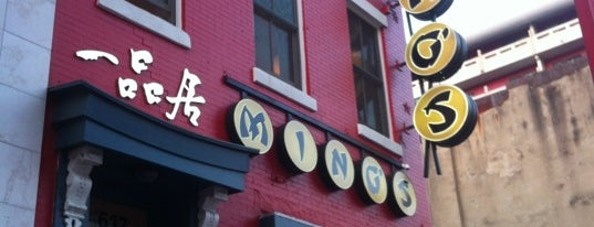Ming's Restaurant is one of DC.