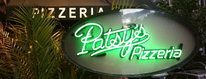 Patsy's Pizzeria is one of I'm gonna eat-cha.