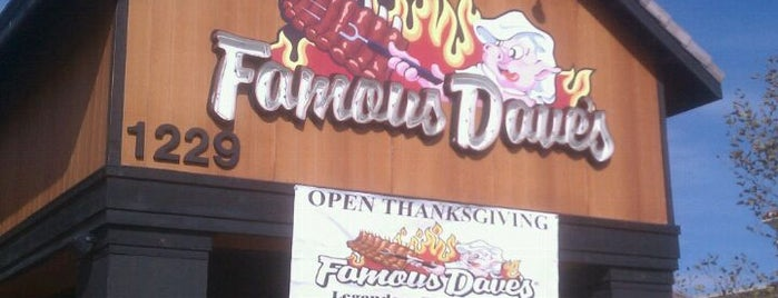 Famous Dave's is one of LA-Dining.