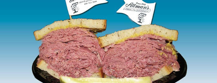 Attman's Authentic New York Delicatessen is one of Must go there and smash.