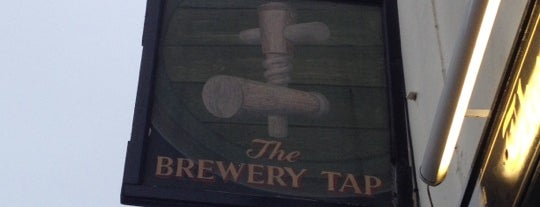 The Brewery Tap is one of Mike'nin Beğendiği Mekanlar.