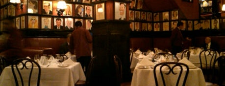 Sardi's is one of NY Region Old-Timey Bars, Cafes, and Restaurants.