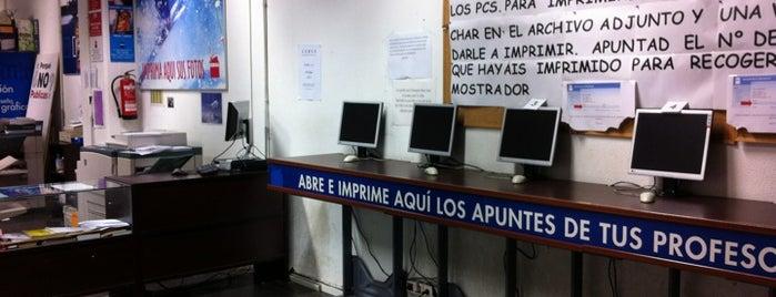 Reprografia Ciencias de la Información (UCM) is one of Publicidad y RR. PP..