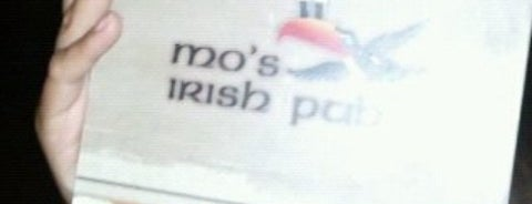 Mo's Irish Pub is one of Phil's Favorite MKE Nightlife Spots.