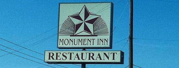 Monument Inn is one of Locais curtidos por ESTHER.