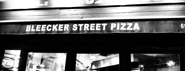 Bleecker Street Pizza is one of NYC TriBeCa.
