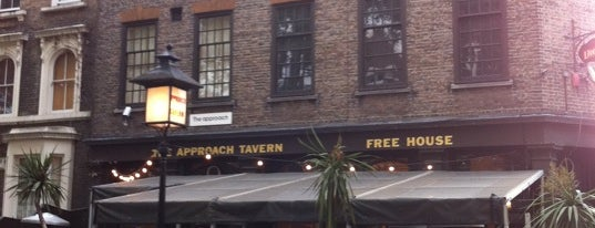Approach Tavern is one of London's best pubs & bars.