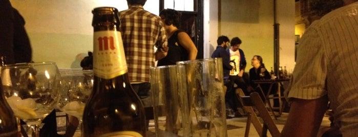 Bar La Plaza is one of Gijon by night.