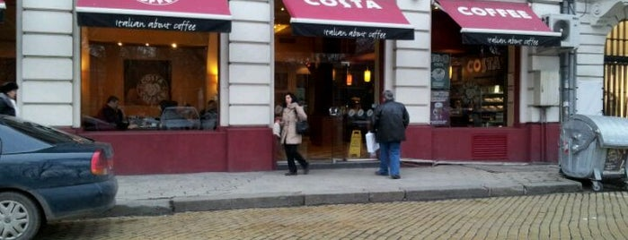 Costa Coffee is one of Orte, die Mila gefallen.