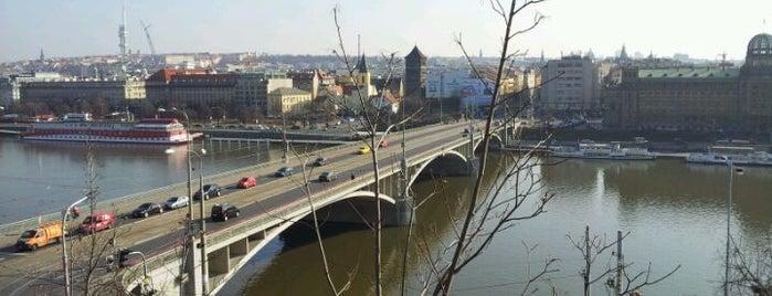 Štefánikův most is one of StorefrontSticker #4sqCities: Prague.