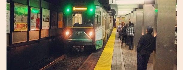 Boston MBTA Stations