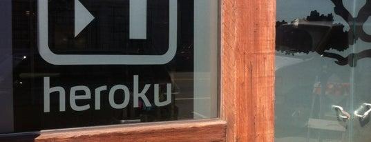Heroku is one of Tech companies in SF.