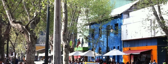 Barrio Bellavista is one of Santiago no es Gris!.