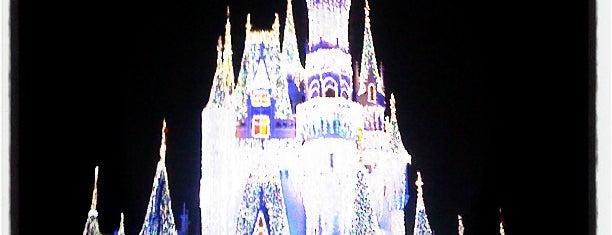Cinderella Castle is one of Walt Disney World.