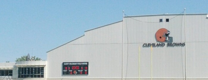 Cleveland Browns Training Facility is one of CLE.