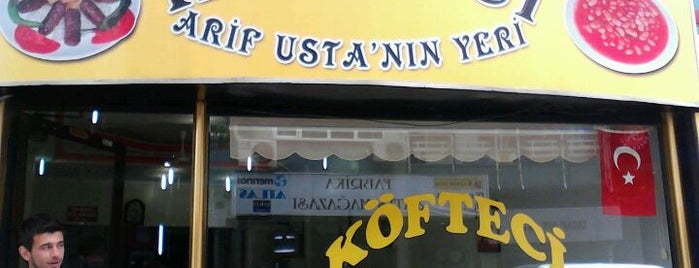 Köfteci Arif Usta is one of Pendik.
