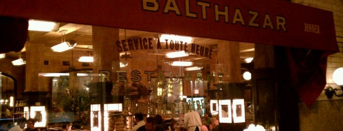 Balthazar is one of Our Favorite Breakfast - Brunch Spots!.