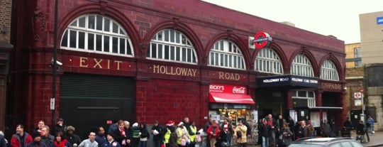 Holloway Road London Underground Station is one of Underground Stations in London.