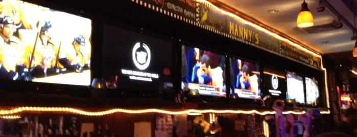 Manny's On Second is one of NYC Sports Bars.