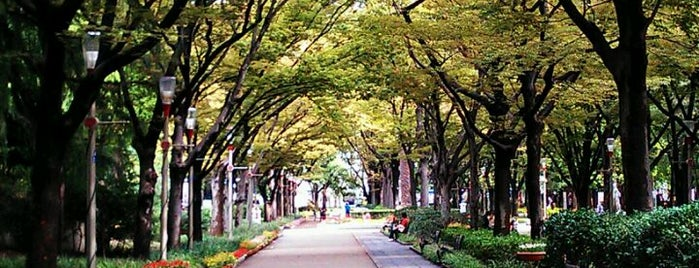 Utsubo Park is one of Osaka.