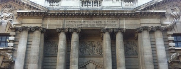 Central Criminal Court (Old Bailey) is one of Stuff I want to see and redo in London.