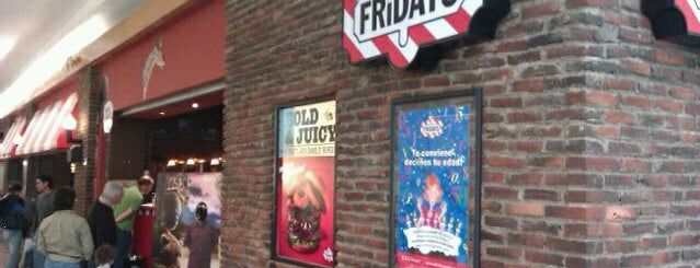 T.G.I. Friday's is one of Must-visit Food in México.