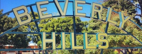 Beverly Hills Sign is one of California Favorites.