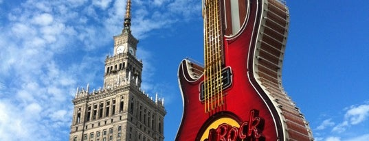 Hard Rock Cafe Warsaw is one of Lugares favoritos de Cihan.