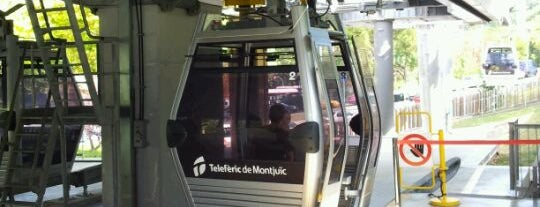 Telefèric de Montjuïc is one of BCN musts!.