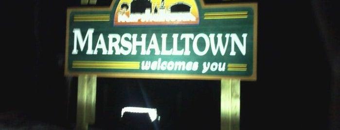 Marshalltown, IA is one of Locais curtidos por Jenn.
