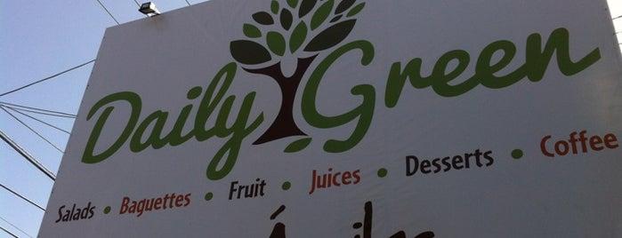 Daily Green is one of Tete'nin Kaydettiği Mekanlar.