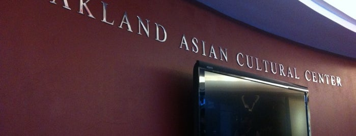 Oakland Asian Cultural Center is one of East Bay Attractions.