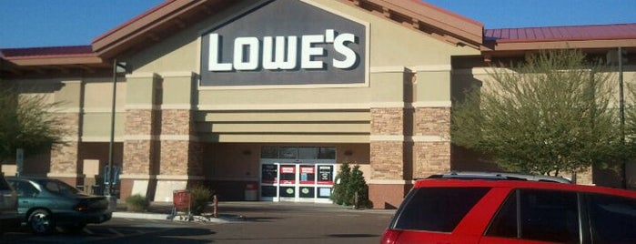 Lowe's is one of Eric's List.