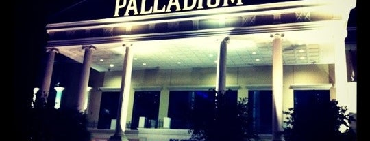 Santikos Palladium IMAX is one of Kim's Saved Places.