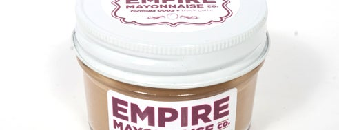 Empire Mayonnaise Company is one of Gespeicherte Orte von Kai.