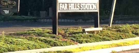 NJT - Far Hills Station (M&E) is one of New Jersey Transit Train Stations.