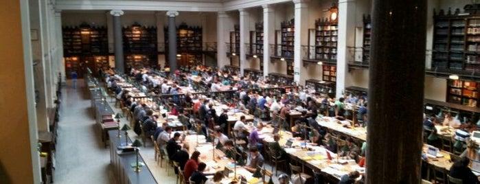 Hauptbibliothek der Universitätsbibliothek Wien is one of Books everywhere I..