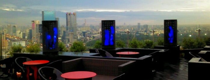 Blue Sky is one of SOUTH EAST ASIA Dining with a View.