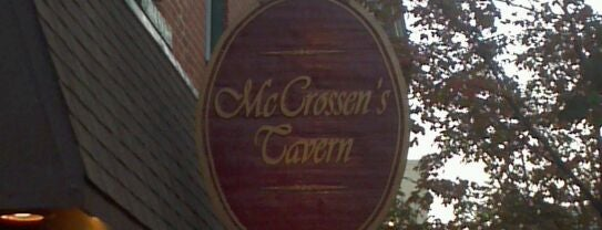 McCrossen's Tavern is one of Eat, Drink & Be Philly Dining Guide!.