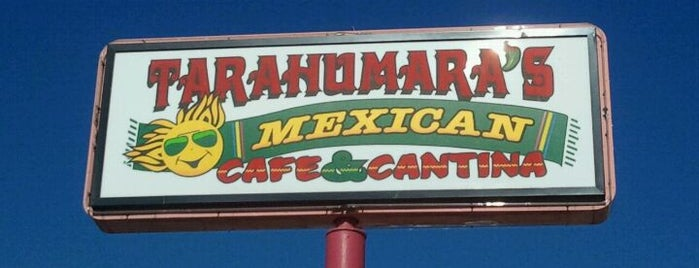 Tarahumara's Mexican Cafe & Cantina is one of Posti salvati di Rachel.