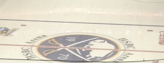 KeyBank Center is one of NHL arenas.
